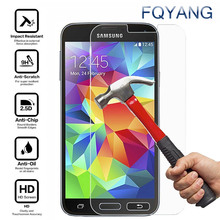 FQYANG 9H 2.5D Tempered Glass Screen Protector For Samsung J1 J2 ACE A7 A5 A3 2015 2016 2017 J2 Pro 2018 Protective Glass Film