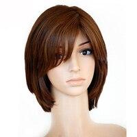 Кошерный еврейский парик Синтетические волосы на кружеве натуральные волосы парики с волосами младенца Европейской Девы парик короткие фр