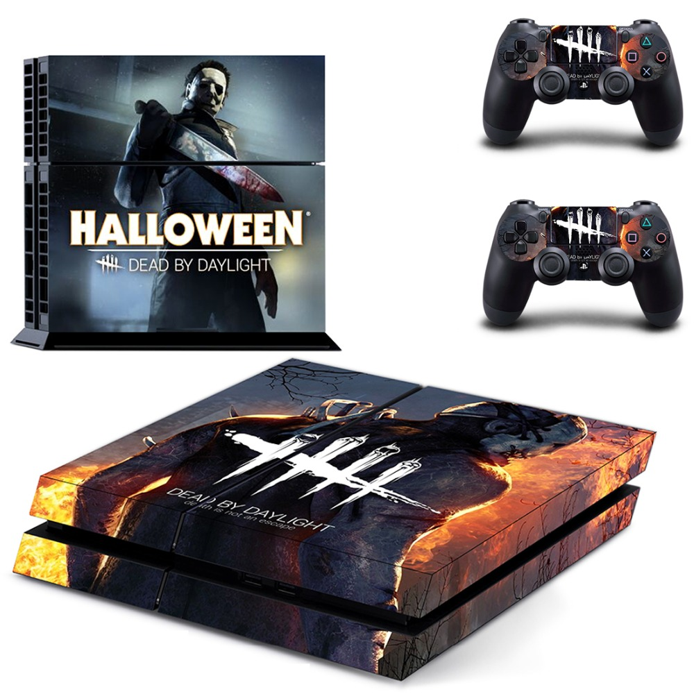Us 751 6 Offdead By Daylight Ps4 Skin Sticker Decal For Sony Playstation 4 Console And 2 Controllers Ps4 Skin Sticker Vinyl In Stickers From