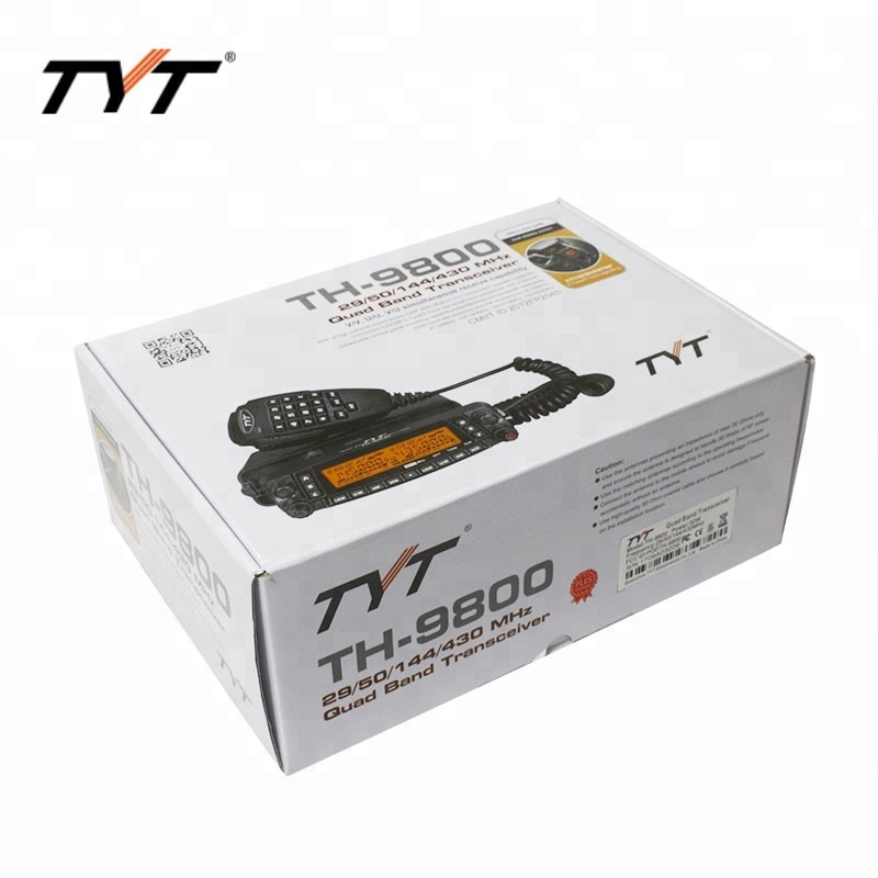 Image 5 - HOTTEST!!!TYT TH 9800 long distance car radio mobile walkie talkie 100KM Coverage VV,VU,UU Quad band Two way radio Repeater-in Walkie Talkie from Cellphones & Telecommunications