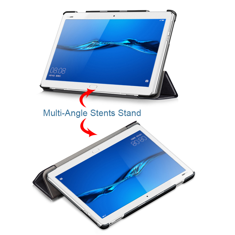 Boeing Aircraft Tablet Case For Huawei Mediapad M3 Lite 10 Trifold Leather Cover For Media Pad M3 Lite 10.1 BAH-W09 BAH-AL00