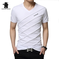 New Men S T Shirt Short Sleeve Summer Fashion Casual Comfortable Breathable Cotton T Shirt Men