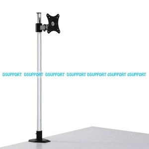 Image 2 - Süper yüksek masaüstü Sit Stand 17 27 inç monitör tutucu paslanmaz çelik TV askısı standı sütun yükseklik 90cm yükleme 10kgs