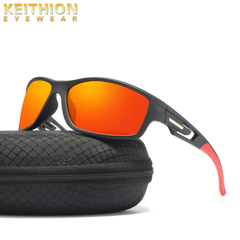 KEITHION TR-90 Polarized Fishing Sunglasses Men Women Eyewear UV400 Protection Outdoor Driving Sun Glasses