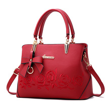 Rose Printing handbag for women