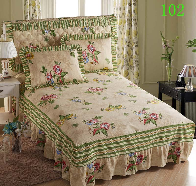 Green Bed Skirt Queen.Us 35 99 Red Pink Green 1 Cotton Bed Skirt Mattress Cover Petticoat Twin Full Queen King Bed Skirts Bedspread Bedskirt Bedding 200x220cm In Bed