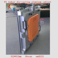 P4 Die Casting Aluminum Hd Rental Screen 16scan 512mm 512mm 62500dots M2