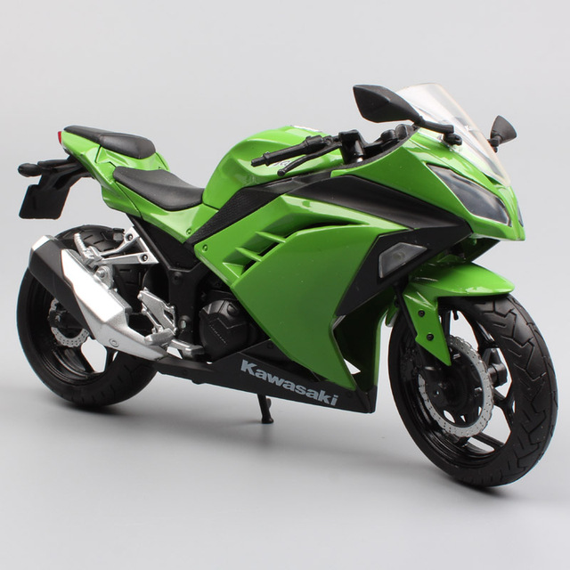 112 Scale Joycity Kawasaki Ninja 250r 300 Racing Bike Motorcycle