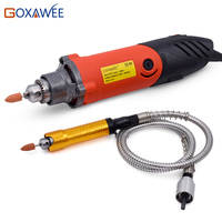 Free Shipping Electric Die Grinder Mini Drill Hardware Variable Speed Rotary Tool 400W Mini Grinding Machine