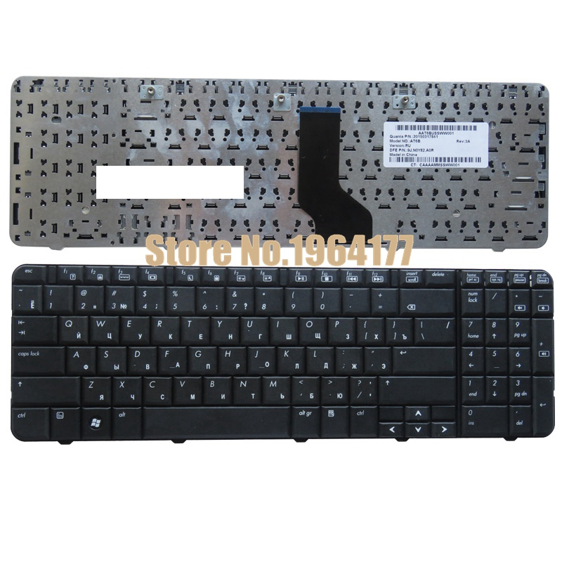 Clavier russe POUR HP Compaq Presario CQ60 CQ60-100 CQ60-200 CQ60-300 G60 G60-100 RU