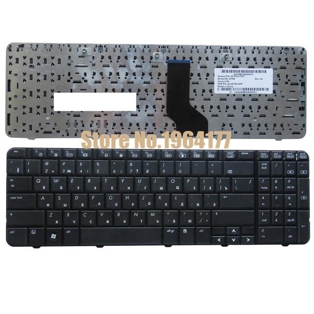 מקלדת רוסית עבור HP Compaq Presario CQ60 CQ60-100 CQ60-200 CQ60-300 G60 G60-100 RU