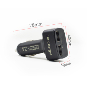 Image 3 - Newest Car Charger Dual DC5V 3.1A USB With Voltage/Temperature/Current Meter Tester Adapter Digital Display