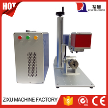 20w Fiber Rotary Laser Metal Engraving Machine / Printer