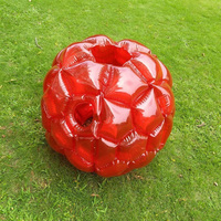 Creative Outdoor Sports Toys Inflatable Bubble Buffer Balls Collision Body Bumper Ball Funny Body Punching Ball Kid Activity Toy