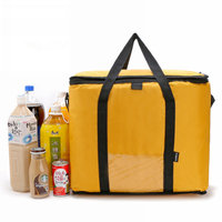 42L Cooler Bag Car ice pack picnic Large cooler bags Yellow Cool Thermo Bag ThermaBag refrigerator thermo thermal bolus thermal