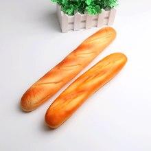 Etmakit милые французские Багеты Kawaii мягкие восходящие Джамбо телефонные ремни милые сжимающие стресс Дети Подарок Подушка буханка торт хлеб игрушка