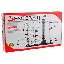 Space Rail Track Steel Marble Roller Coaster