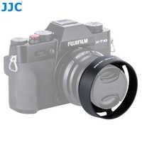 JJC Bajonet Ronde Camera Metalen Zonnekap 43mm voor FUJINON LENS XF35mm/25mm F2 R WR Vervangt LH-XF35-2