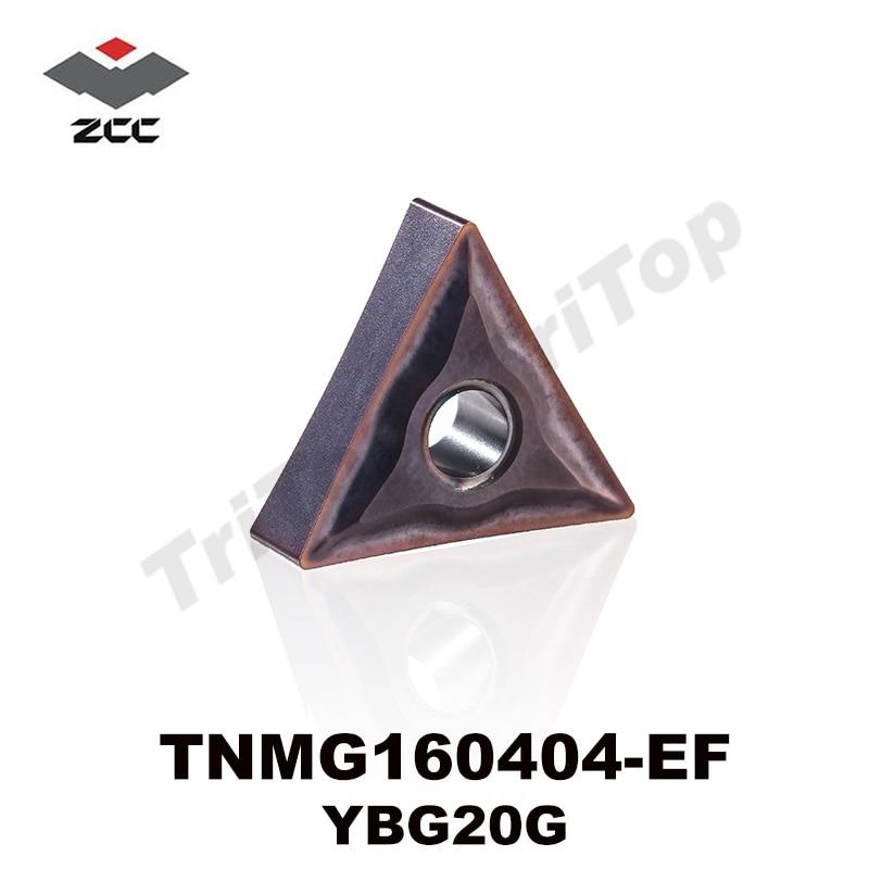 TNMG160404 -EF YBG205 ZCC.CT UTENSILE da taglio inserti per tornitura - Macchine utensili e accessori - Fotografia 1