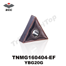 TNMG160404 -EF YBG205 ZCC.CT Cutting TOOL Turning Inserts For steel and stainless steel TNMG331 FREE SHIPPING
