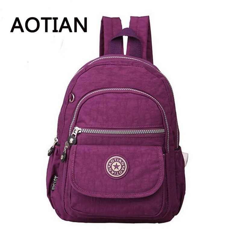 2017 HOT New Designed Brand AOTIAN Backpack Students Leisure Small Backpack for Teenager Men s Women