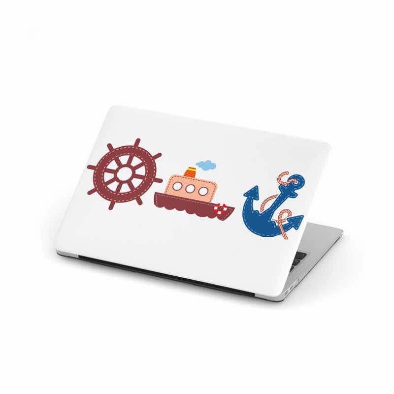 LoliHippo série ancre étui de protection pour ordinateur portable pour Apple Macbook Air Pro 11 12 13 15 pouces couverture pour ordinateur portable pour A1465 A1398