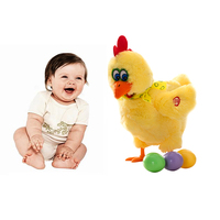 Funny Doll Raw Chicken Hens Will Lay Eggs Of Chickens Crazy Singing And Dancing Electric Pet