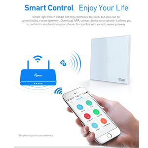 Image 5 - جهاز المنزل الذكي Coolcam 10 قطع لمفتاح إشارة Z wave 1 جهاز منزلي ذكي يعمل باللمس على الحائط يعمل بأتمتة منزلية Z Wave Plus لاسلكي