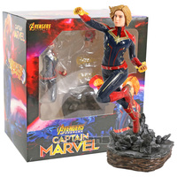 Avengers Endgame Captain Marvel Carol Danvers PVC Statue Figure Collectible Model Toy