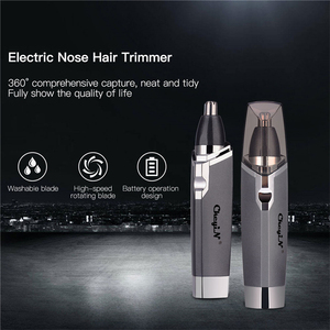 Image 1 - Триммер для носа, бритвенный станок для мужчин с аккумулятором AA