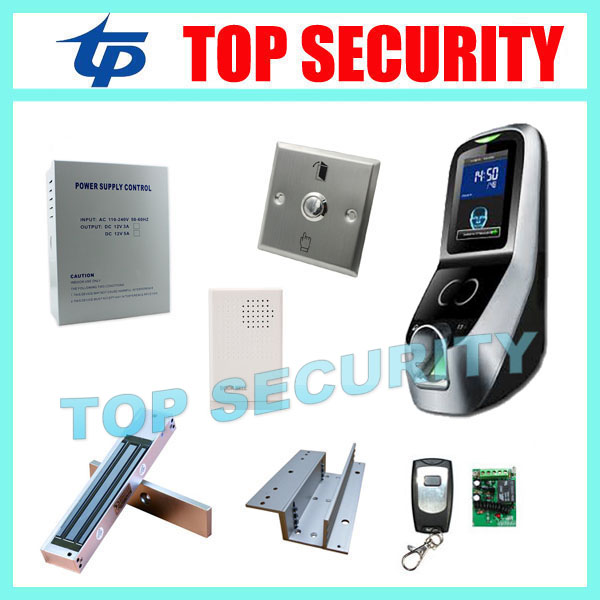 ZK multibio700 door access control system facial door access controller with fingerprint reader with TCP/IP communication tcp ip biometric face recognition door access control system with fingerprint reader and back up battery door access controller