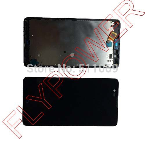 FOR ZTE Red Bull V5 U9180 V9180 N9180 LCD Screen Display +digitizer touch Screen +Frame Assemblely by free shipping