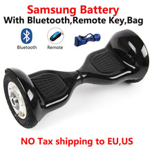 Samsung battery 10 inch bluetooch bag remote self balance electric scooter Skateboard Standing Drift Board electric hoverboard