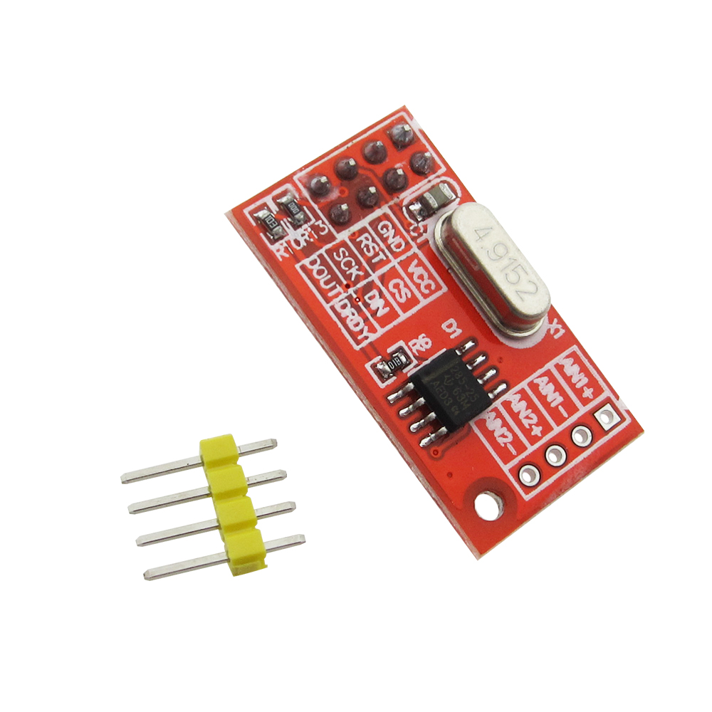 Dual 16-bit ADC Data Acquisition Module SPI Compatible AD7705 Module Board by