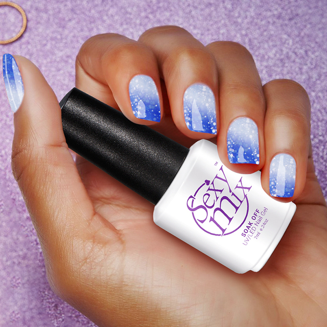 Sexy Mix Led Nail Polish Chameleon Temperature Color Changing Uv Gel