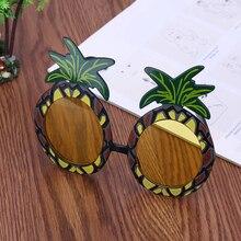 Halloween Hawaiian Beach Pineapple Sunglasses