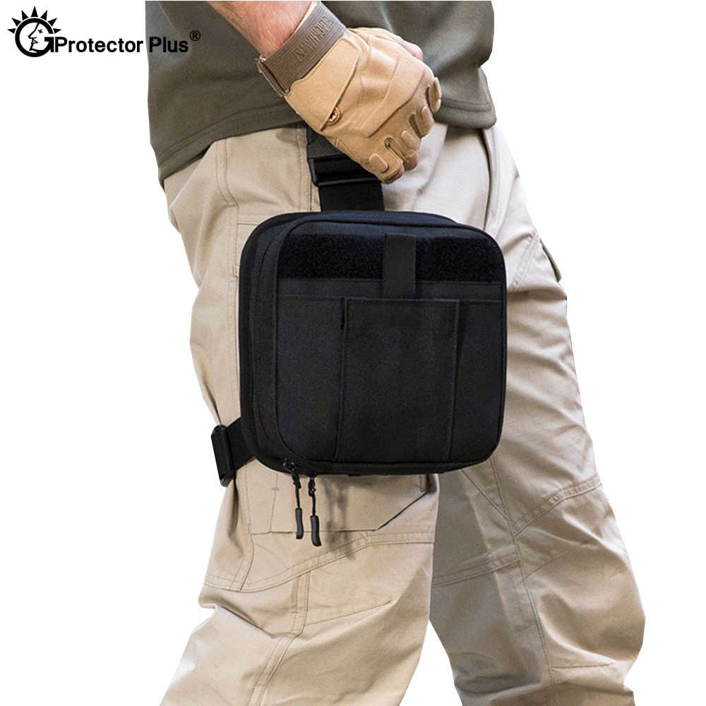 Detail Feedback Questions about Tactical Leg Bag Protector
