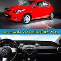 Painel do carro cobre dashmat plataforma pad acessórios do carro adesivo PARA mazda demio 2 2007 2008 2009 2010 2011 2013 2012 2014