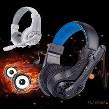 G1 Gaming Headset 3.5mm Stereo Bass Auriculares con Micrófono Auriculares para Pc Portátil MP3 MP4