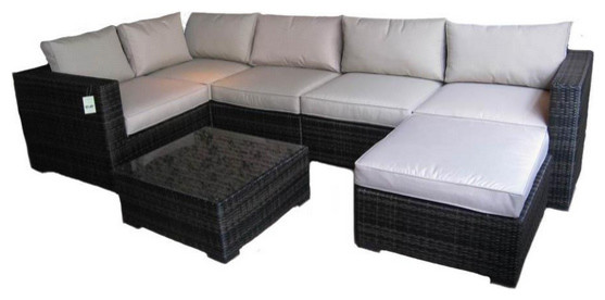 2017 Quickest Delivery time Deluxe cane rattan sofa furniture