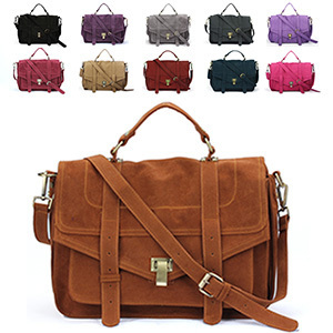 Whole Fashion Star Women S Handbag Jessica Skin Scrub Briefcase Messenger Bag Emma Roberts Satchel Pu Suede Leather In Top Handle Bags From Luggage