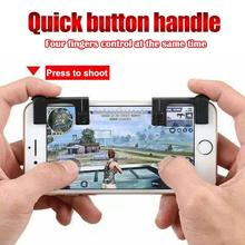 2pcs Mobile Phone Game Physical Joysticks Game Controller Assist Tools Shooting Games Accessories for PUBG STG FPS TPS Game