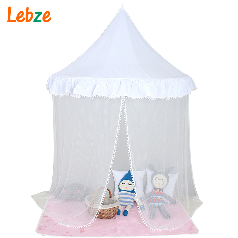 ФОТО 2016 New Children Play Tent  Kids Teepees Hanging Kids tent Cotton Canvas Tipi and Mosquito Net  Play House for Baby Room