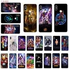 Lavaza Marvels The Avengers Hard Phone Cover for Xiaomi Mi 8 A2 Lite 9 SE A1 Max 3 F1 Redmi 7 Go Case