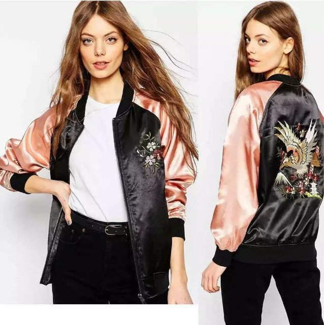 Aliexpress.com : Buy LSJ007 women Eagle flower Embroidered Jacket ...