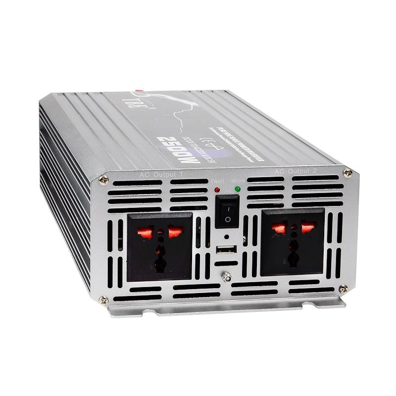 2500W-2500WATT-Car-12V-DC-In-to-220V-AC-Out-Pure-Sine-Wave-2-5KW-Power (2)