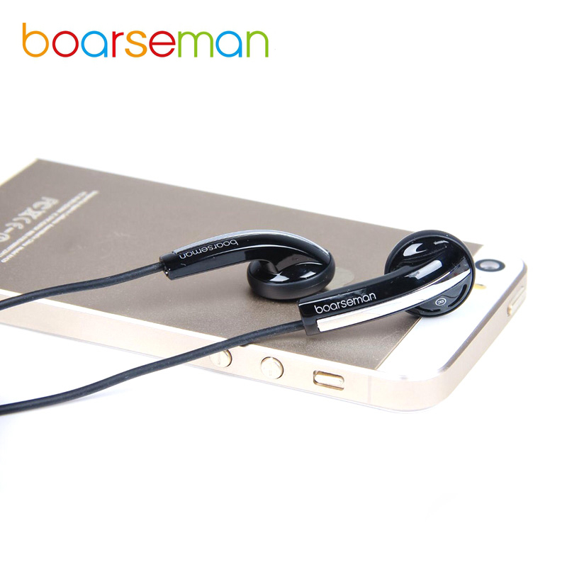 Original Boarseman K49 Earphone Bass Headset HiFi Dynamic Earbuds In-ear Earphone 3.5mm Wired Earphones For Phone Computer MP3/4 2017 new six dynamic bass ear hifi earbuds earphone for mobile phone universal yinjw p8 magic song
