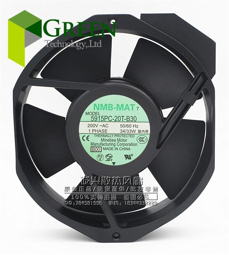 The Original NMB MAT 5915PC 20T B30 17238 17cm 172 150 38MM AC200V 33W server inverter