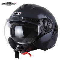 NENKI Pilot открытым Уход за кожей лица мотоциклетный шлем Ретро capacete да motocicleta Cascos Мото шлем каск руля Винтаж Chopper Jet Шлемы