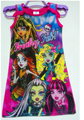 Big girls clothes monster hight monster.high Dress party girl dresses clothing cotton cartoon dresses for girls 3-12 years
